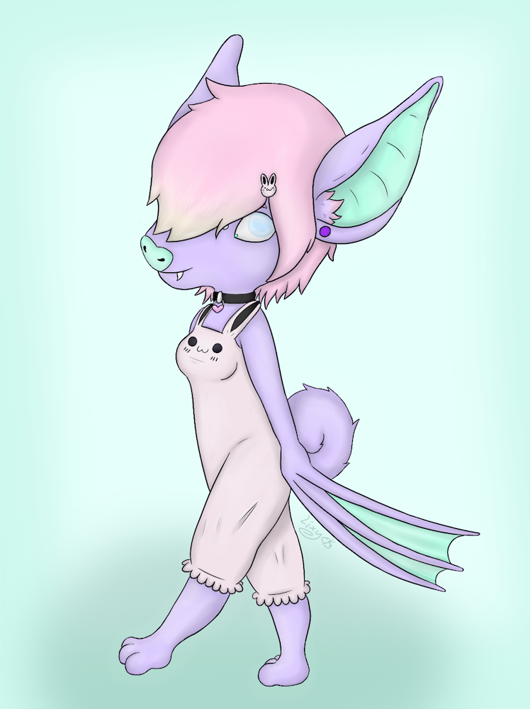 Bat In A Bun [Raffle Prize]