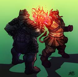 Burning Fist