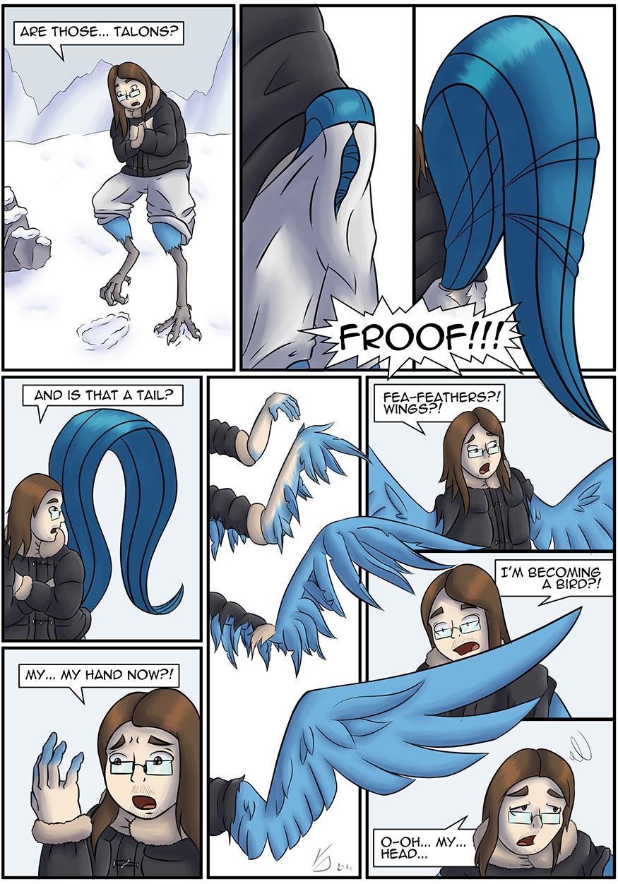 [COM][Comic][Articuno TF] Cold Resistance 2/3