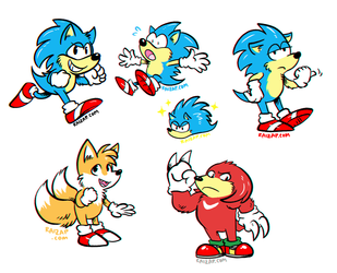 Little Sonic and Amigos