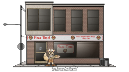 "The ""Pizza Time"" Restaurant (2016)"
