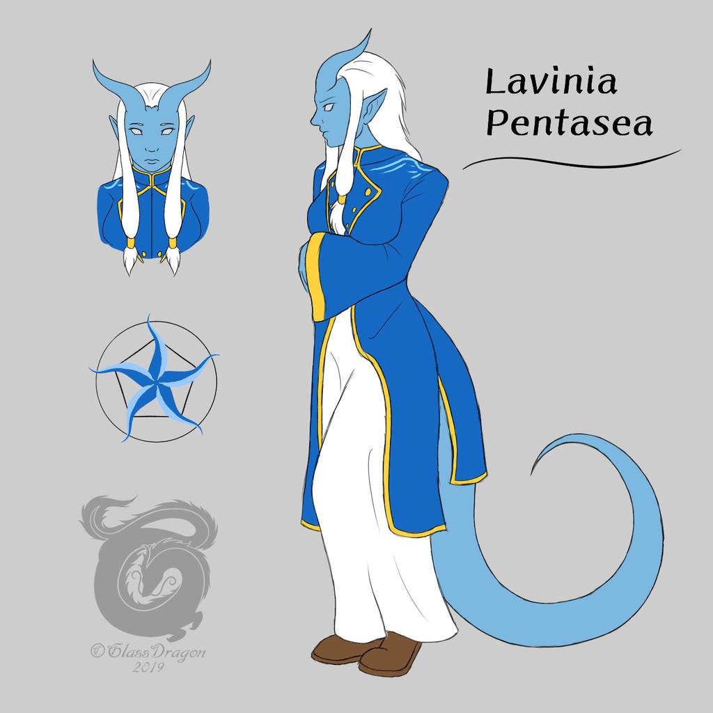 Tiefling Cleric, Lavinia Pentasea