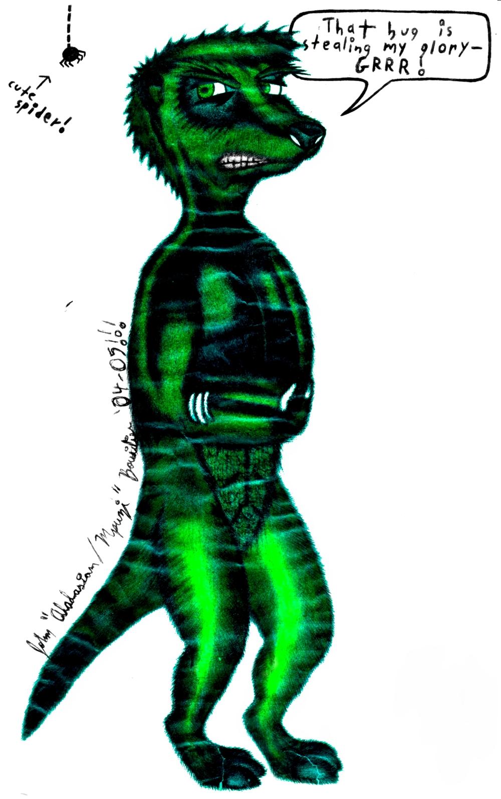 Most recent image: The Incredible Meerhulk