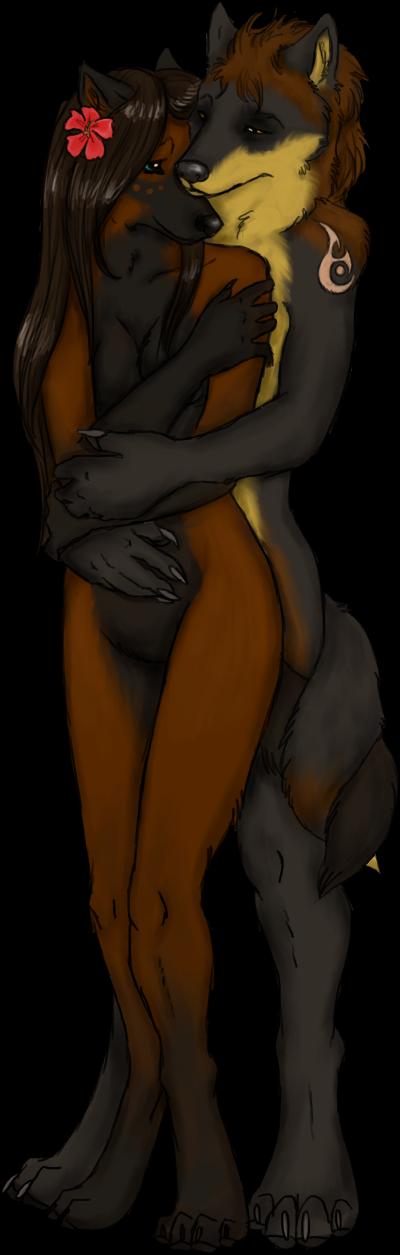 Cute Kaiolohia & Rowan (Nat Commission)
