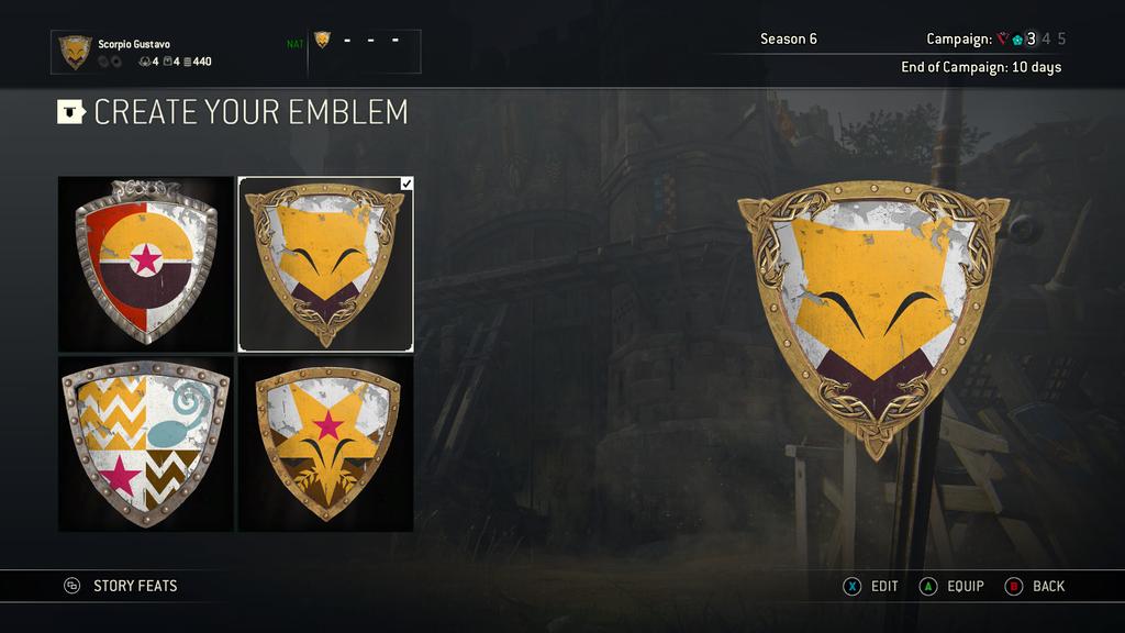 Abra and Kadabra emblems for For Honour