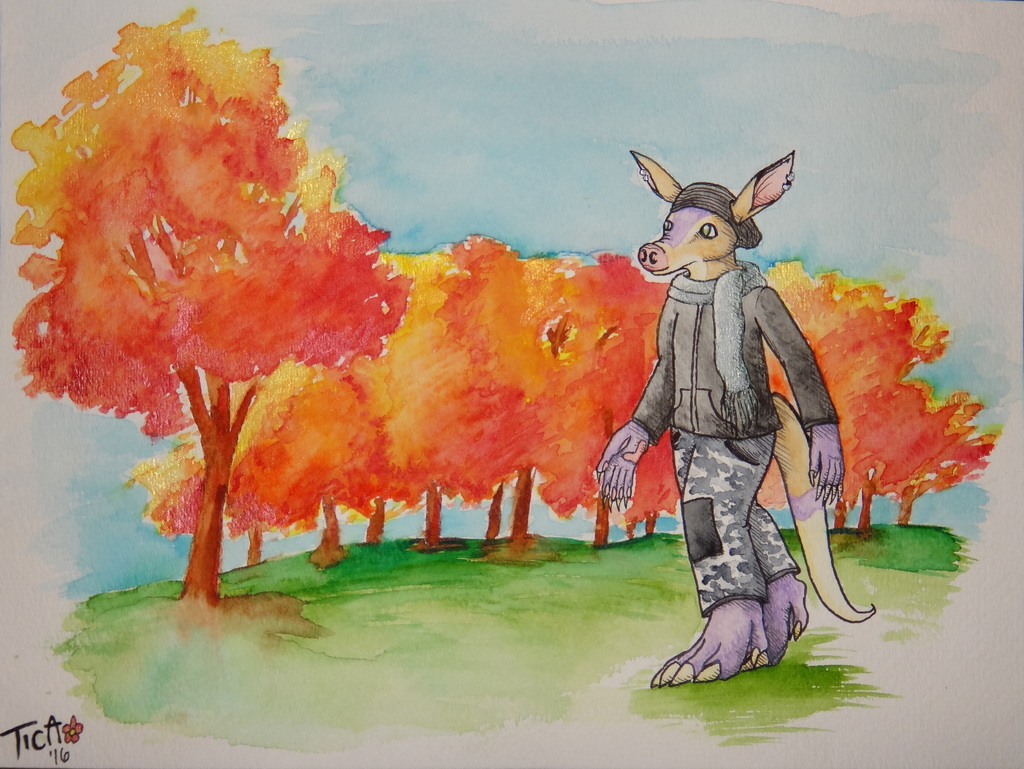 Trade: Louie in Autumn