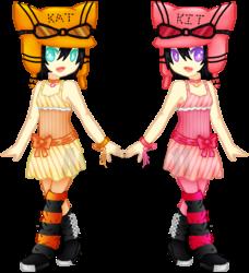 Kit Kat Twins