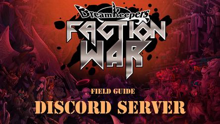 FACTION WAR Discord Walk-through