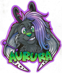 Aurura Badge (Commission)