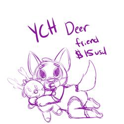 Deer Friend YCH