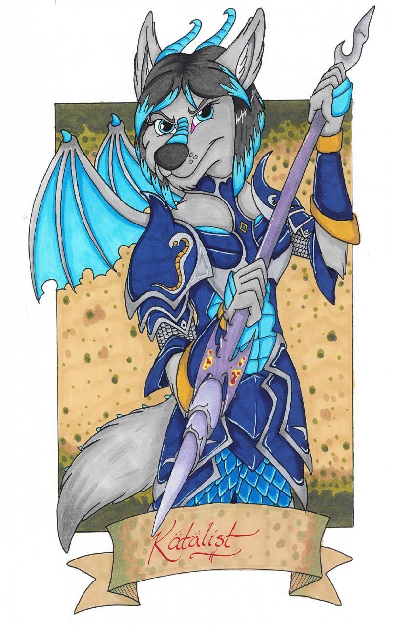 Badge: Katalist by LordFenrir