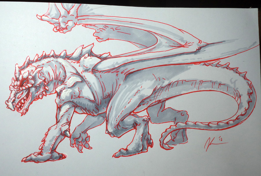 Most recent image: Draconic - Surf