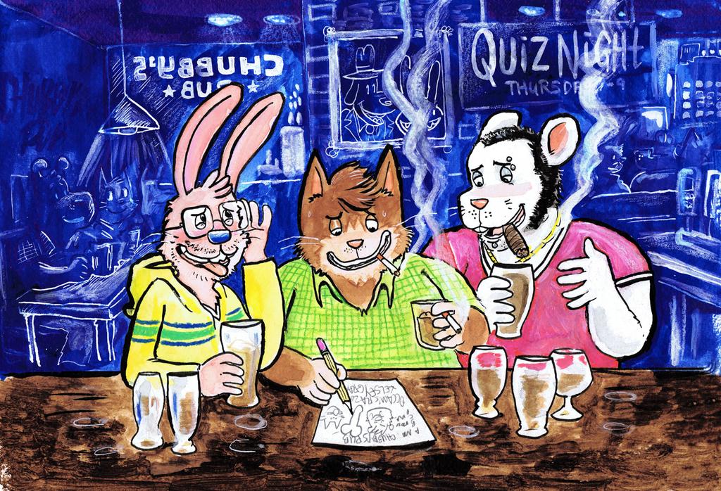 Quiz Night at Chubby's Pub