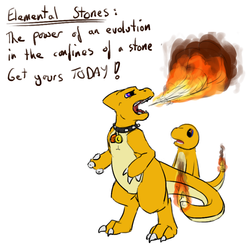 The Elemental Stone of Fire - by imperfectflame