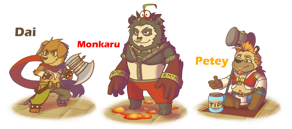 Most recent image: Dai's Dungeon Chibi Bosses
