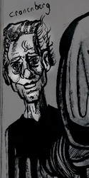 Cronenberg Caricature