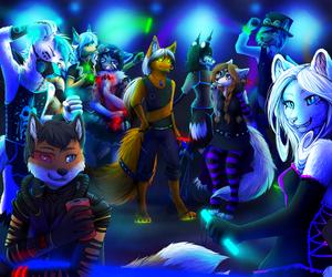 Furry Rave