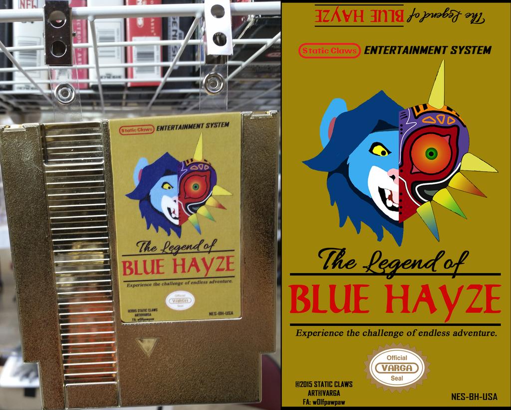 The Legend of Blue Hayze [cartridge badge]