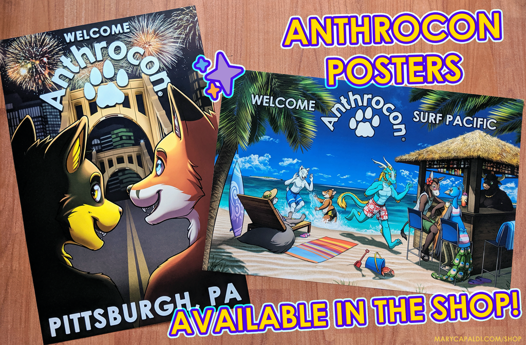 Anthrocon Posters Available!