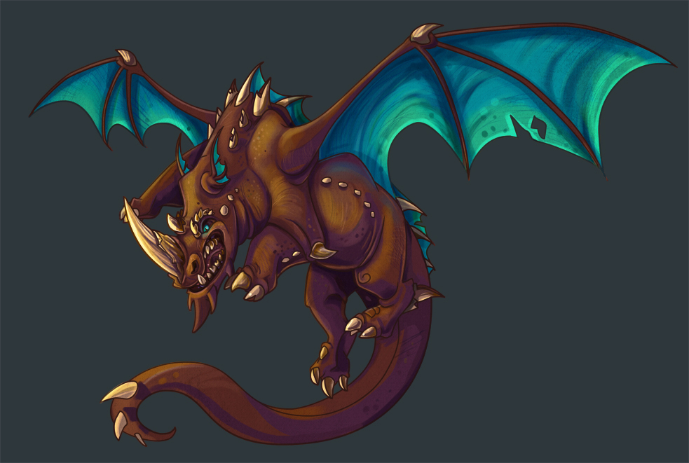 "Brachial the ""GET THUMPED"" Dragon. 810765d3844c05787c8b75864e62d3c6b7bc9c4152ed87293f6dca89d699ec9c"