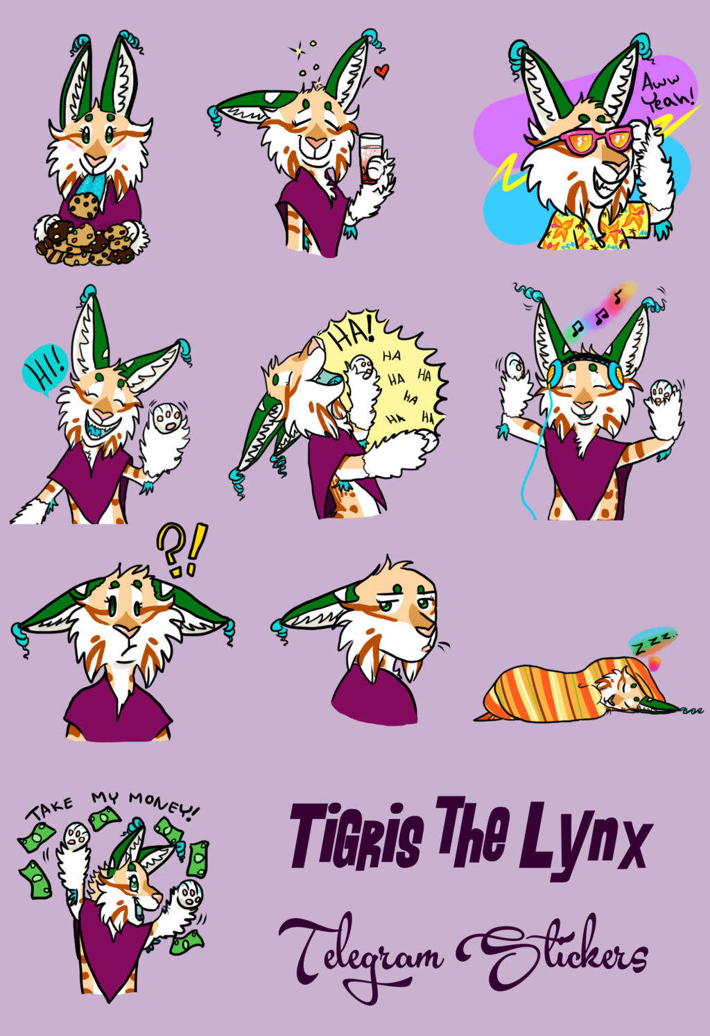 Tig Telegram Stickers