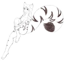 Maven Treecat - Just Relaxing Sketch