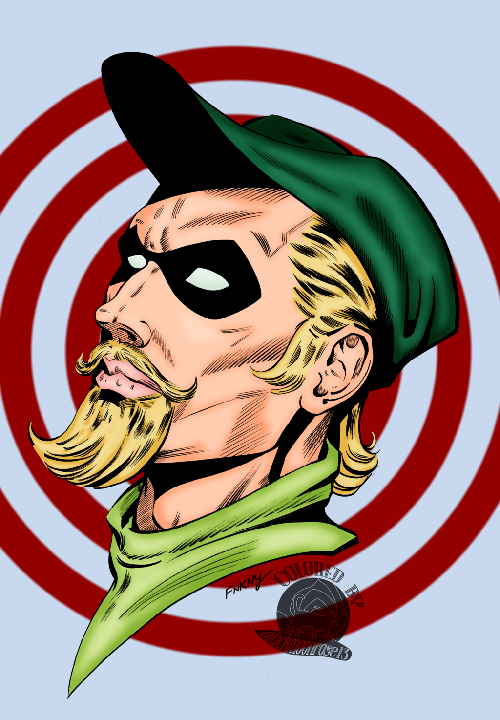 Most recent image: Green Arrow Bronze Age Tribute