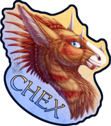 Badge Comish - Chex