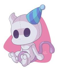 Birthday Mewtwo Plushie