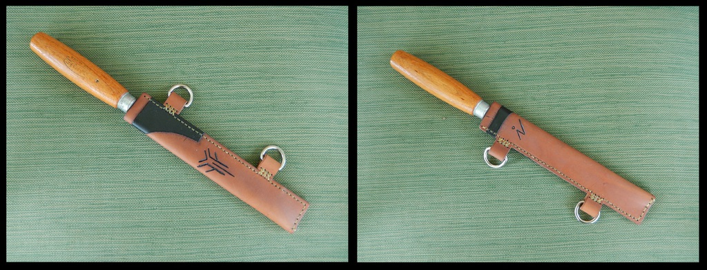 Leather Projects - Knife Sheath