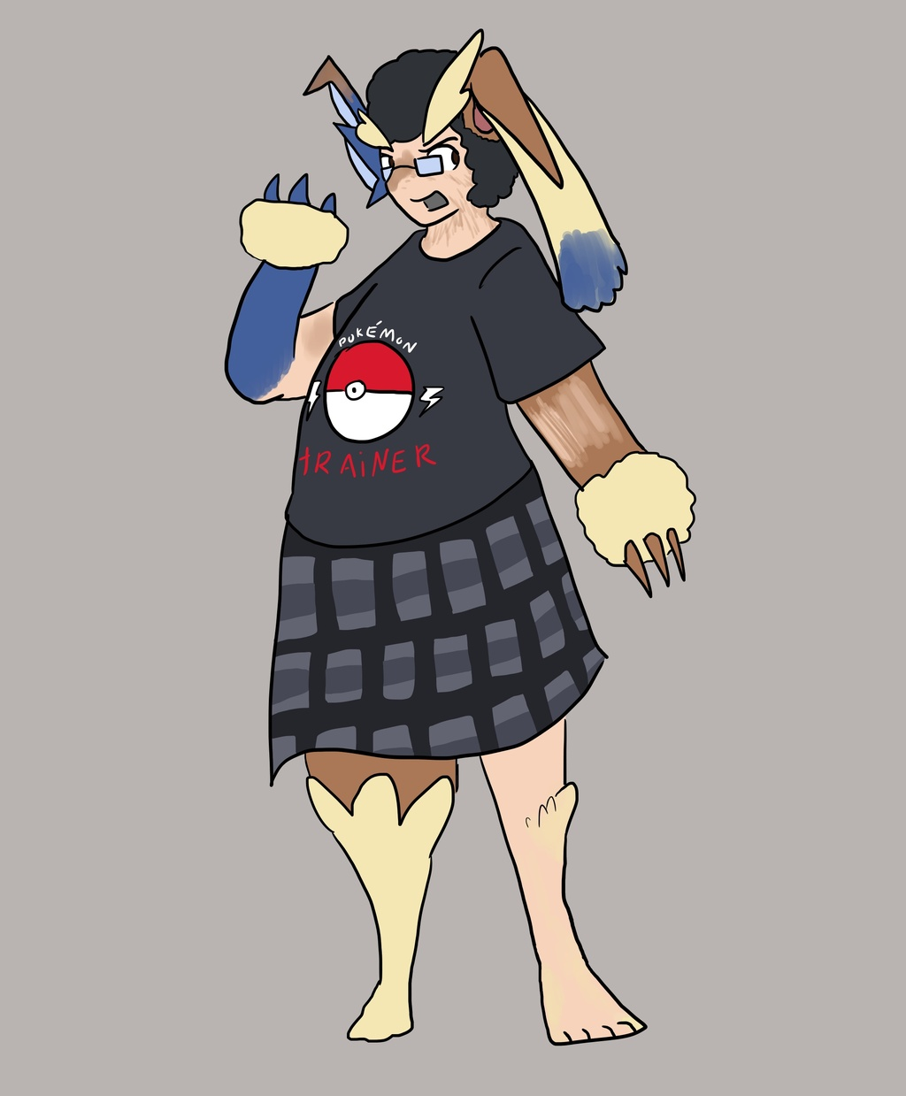 Most recent image: Poke-shift attempt #3: Lopunny #428