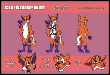 Geo George Mutt Reference Sheet