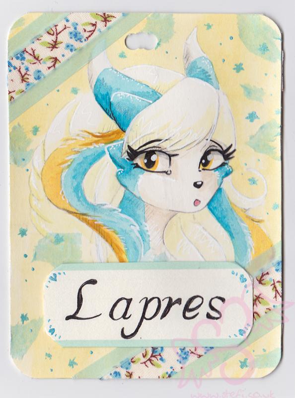 Lapres Pretty Badge