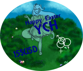 Happy Easter YCH (Your-Character-Here)