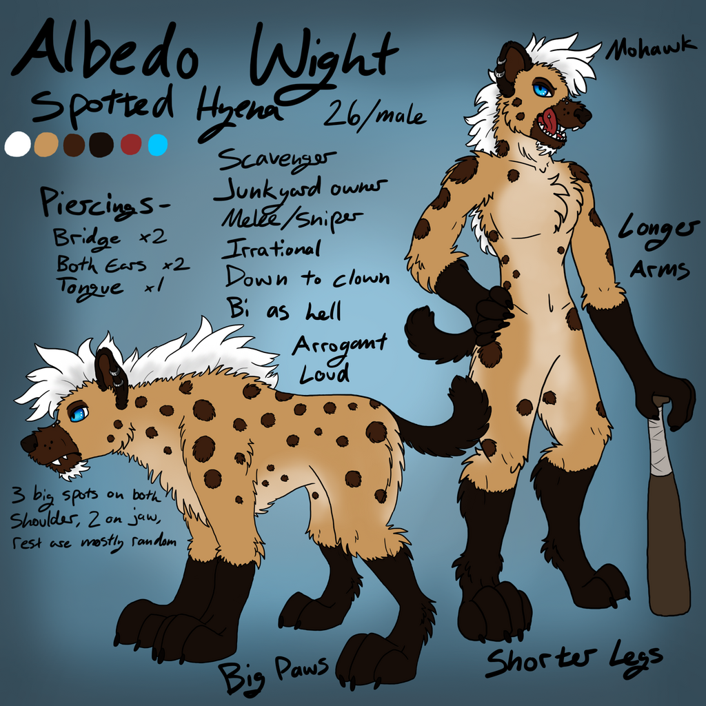 Most recent image: Hyena Albedo Wight