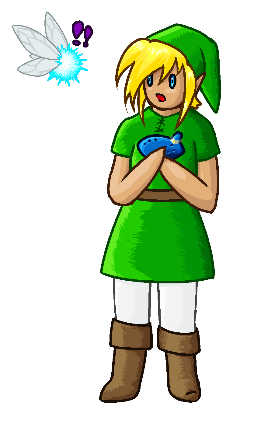 Link and Navi (old)