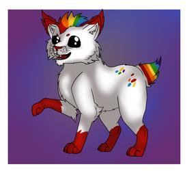 Raphael the Rainbow Lynx