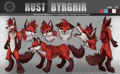 Rust Byrghir Ref Sheet (CM)