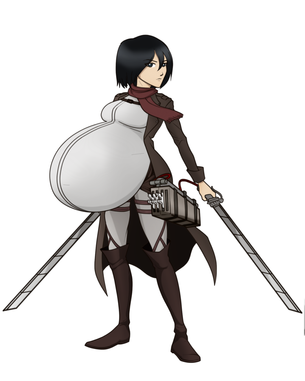 Iron Artist Fail: Maternal Mikasa