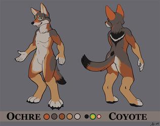 Ochre Coyote Ref Sheet