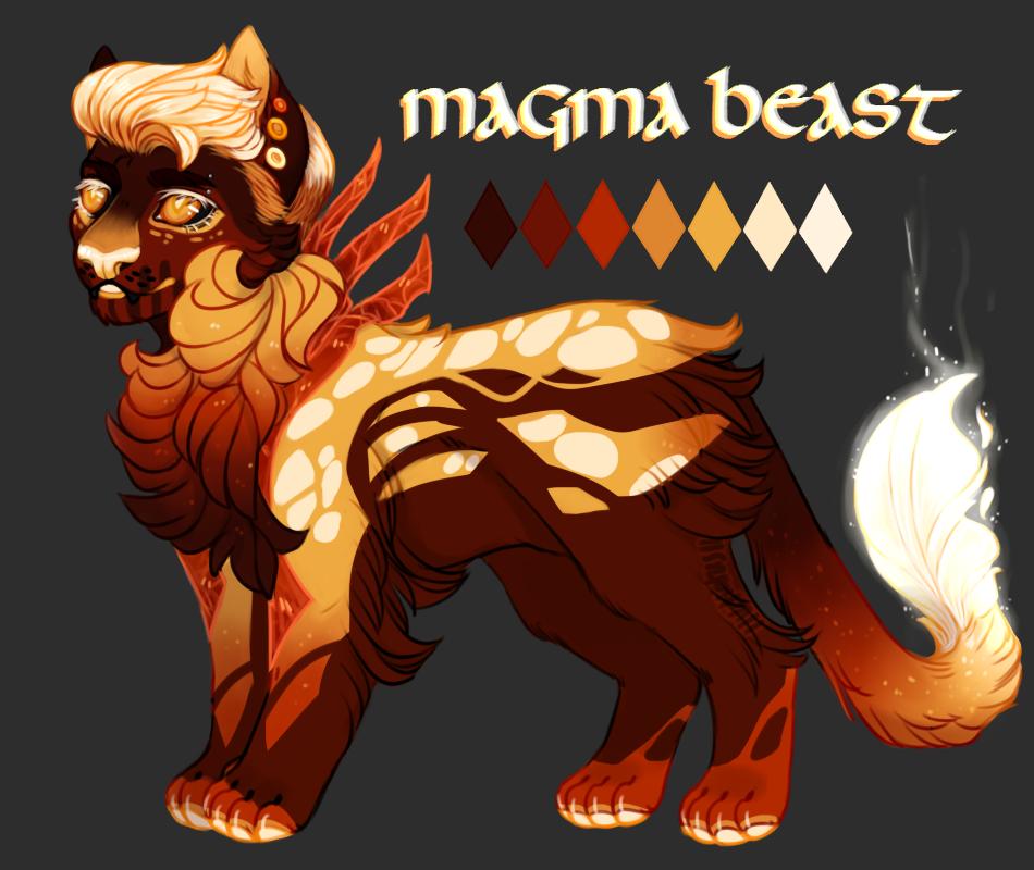 Magma Beast (CUSTOM)