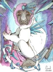 [Fantasy Lemurs] Tundra Lemur