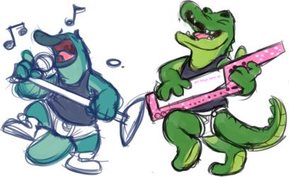 More musical dorks in underwear