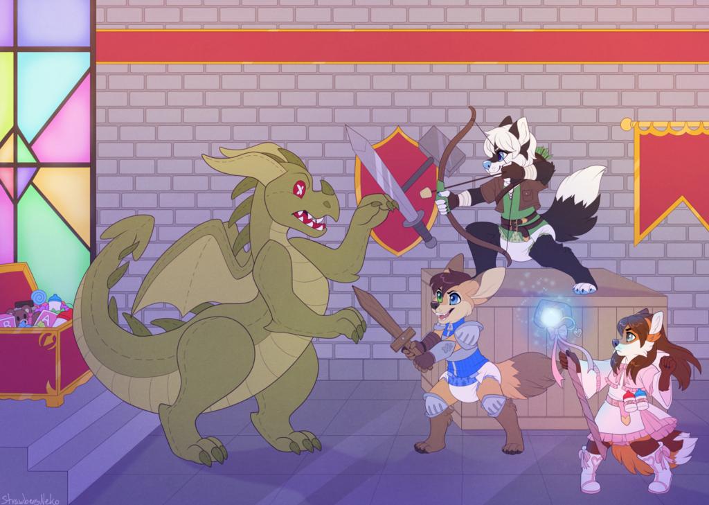 Evil Dragon - Commission