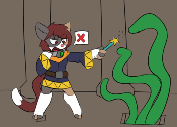 Adventuring Mishaps - Anti-magic collar
