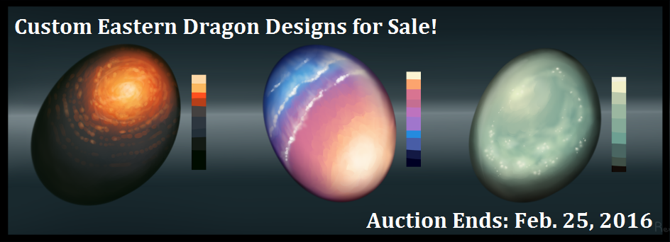 Eastern Dragon Eggs for Sale! [Custom Designs]
