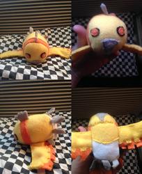 Pokemon Shiny Ho Oh Tsum gift for lapis-lupus