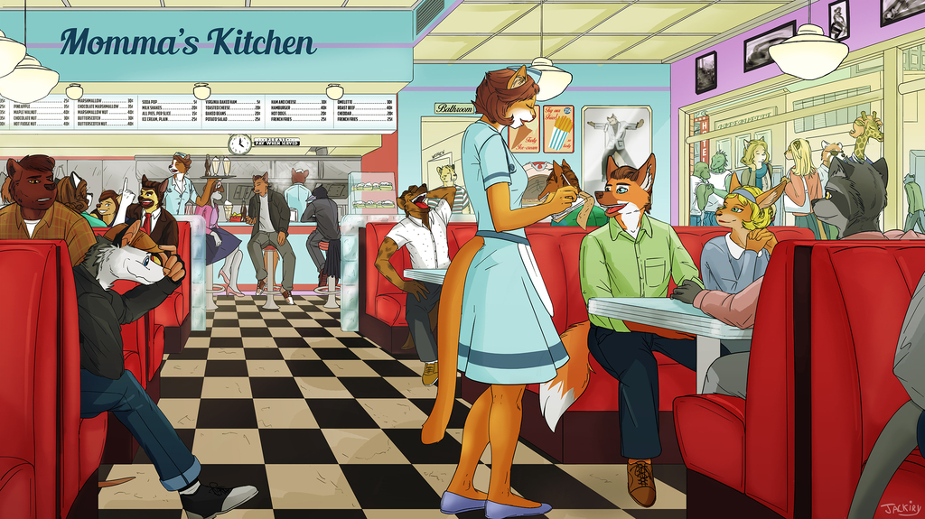 'Momma's Kitchen'