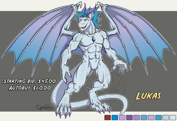 Adoptable Dragon Lukas Starting Bid $45