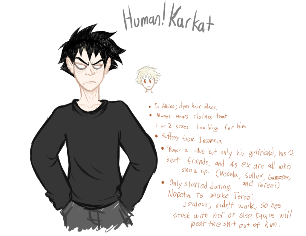 Human!Karkat